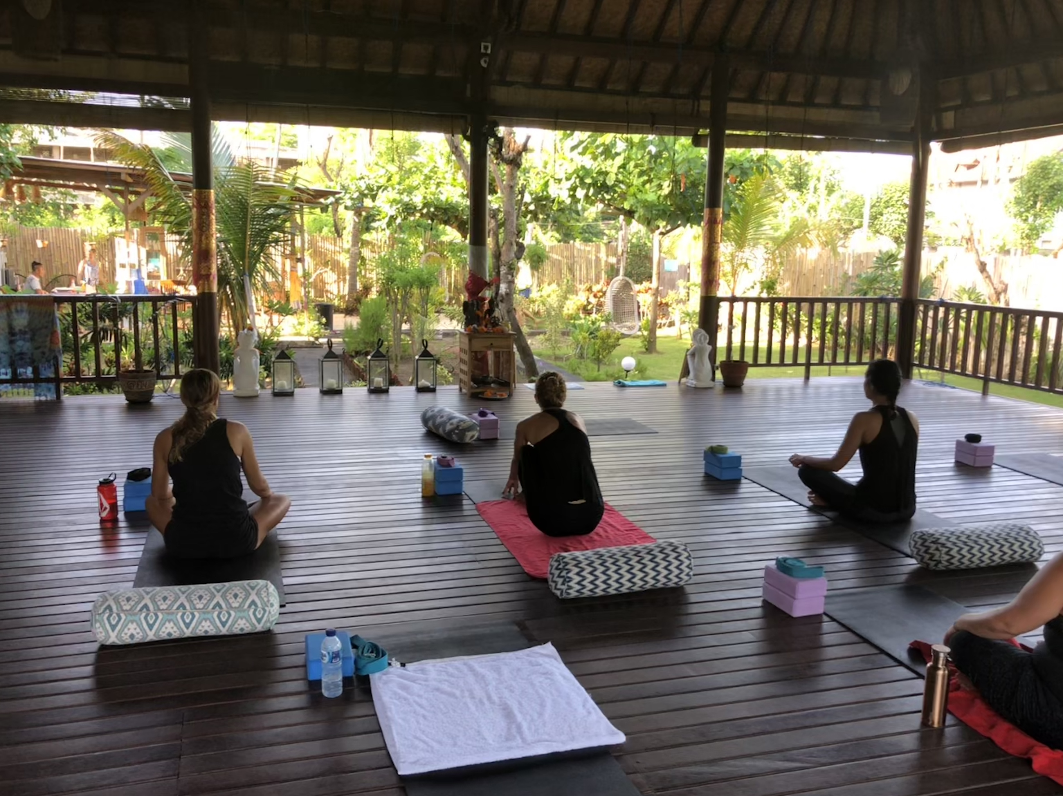 Yoga on Nusa Lembongan